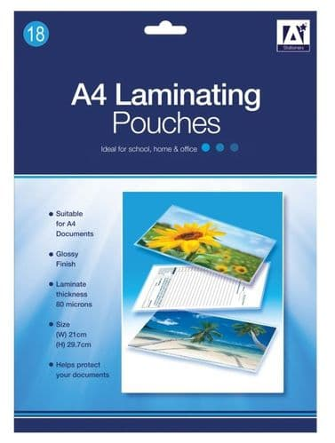 Anker Laminating Pouches - Pack of 18